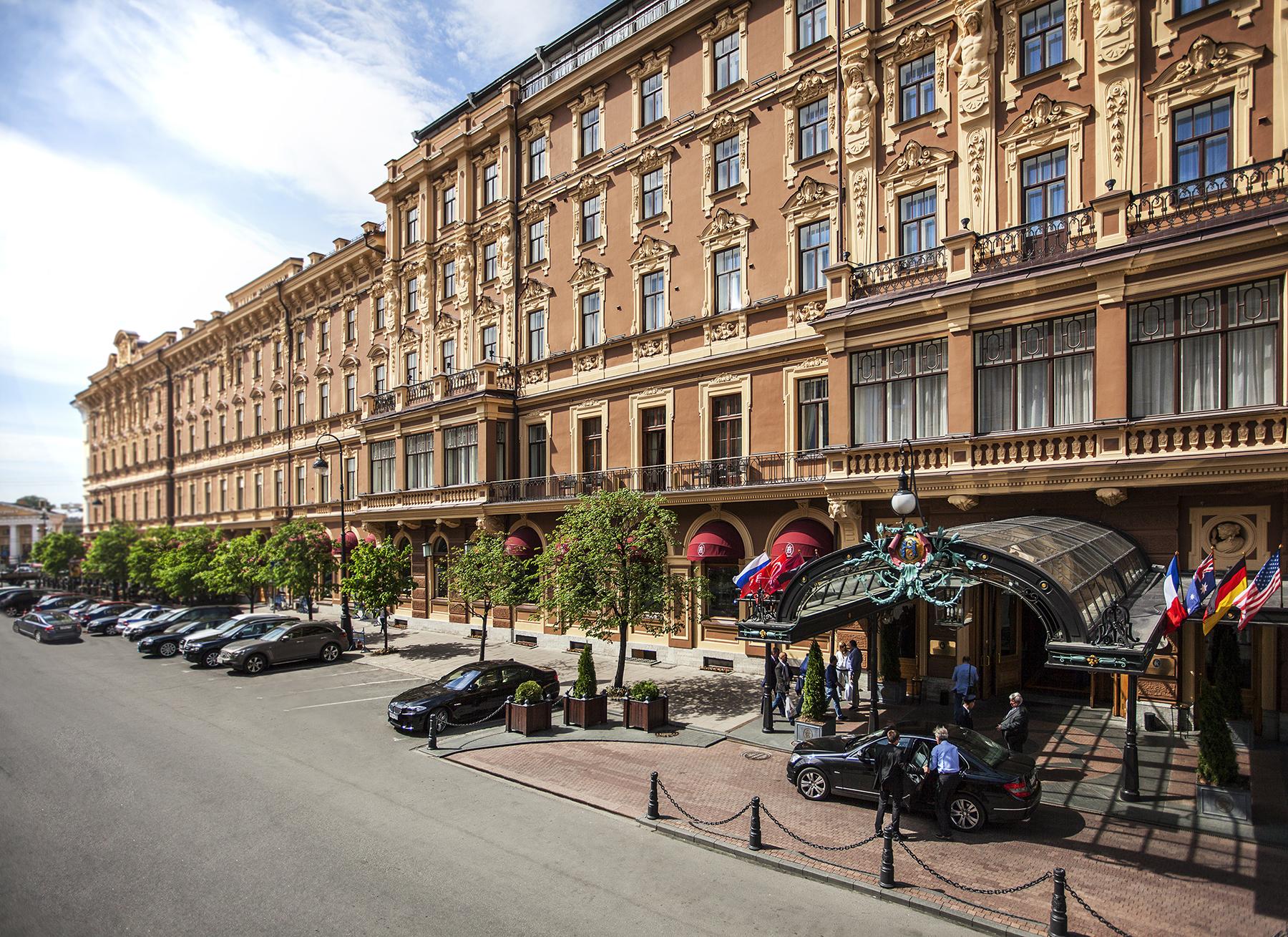 Гранд Отель Европа в Санкт-Петербурге