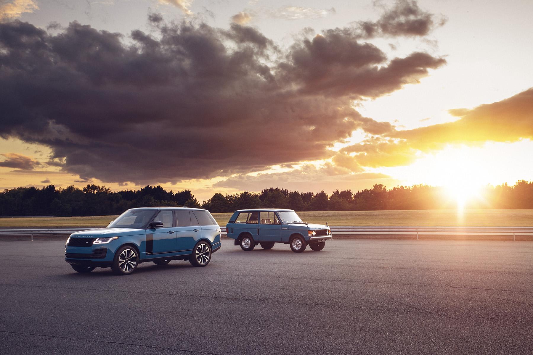 Range Rover Fifty - эксклюзивная версия к 50-летнему юбилею