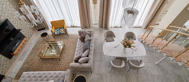 Квартира в Москве от дизайнера Светланы Сергеевой