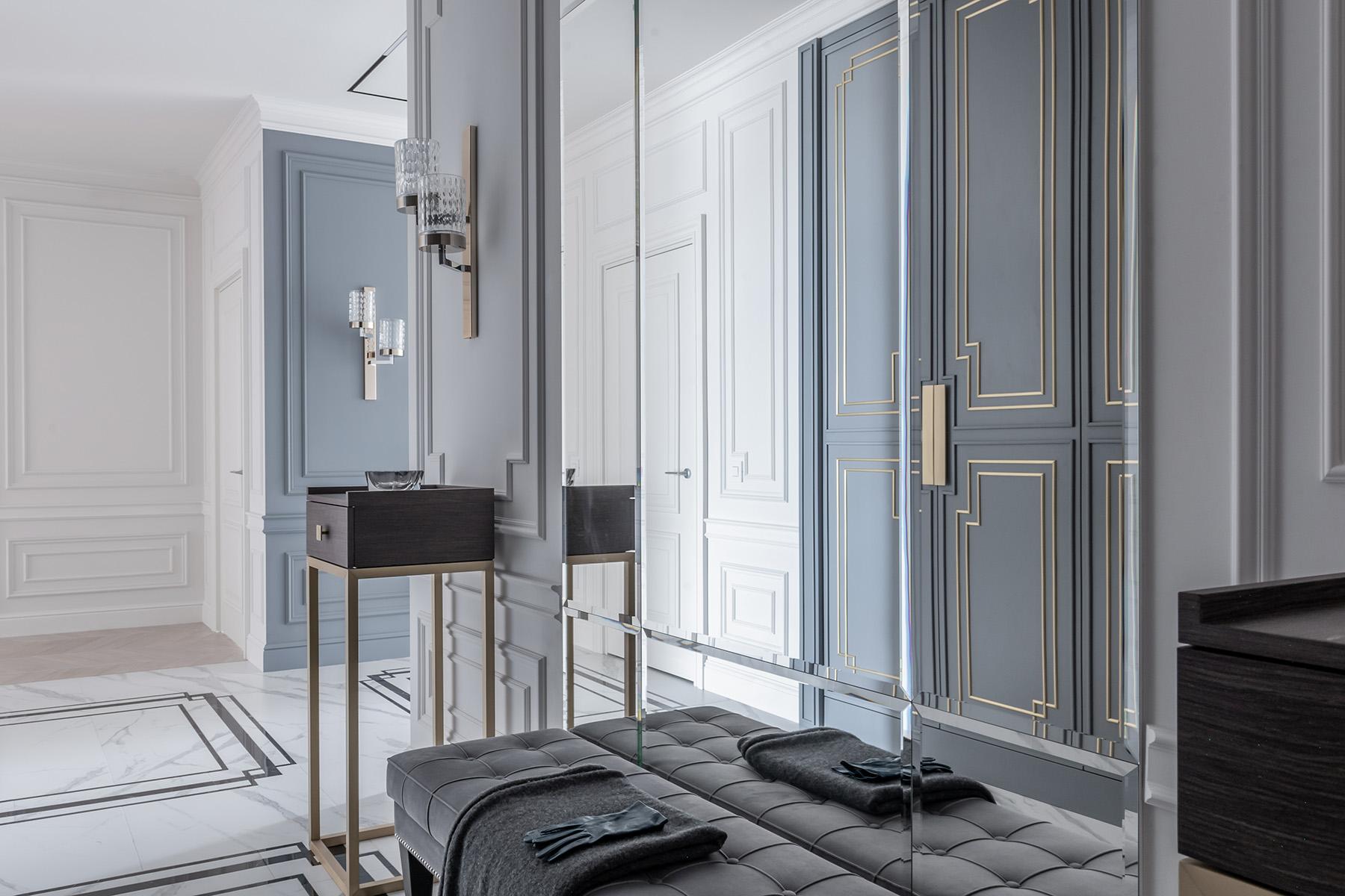 Интерьер квартиры от студии дизайна Полины Брагиной