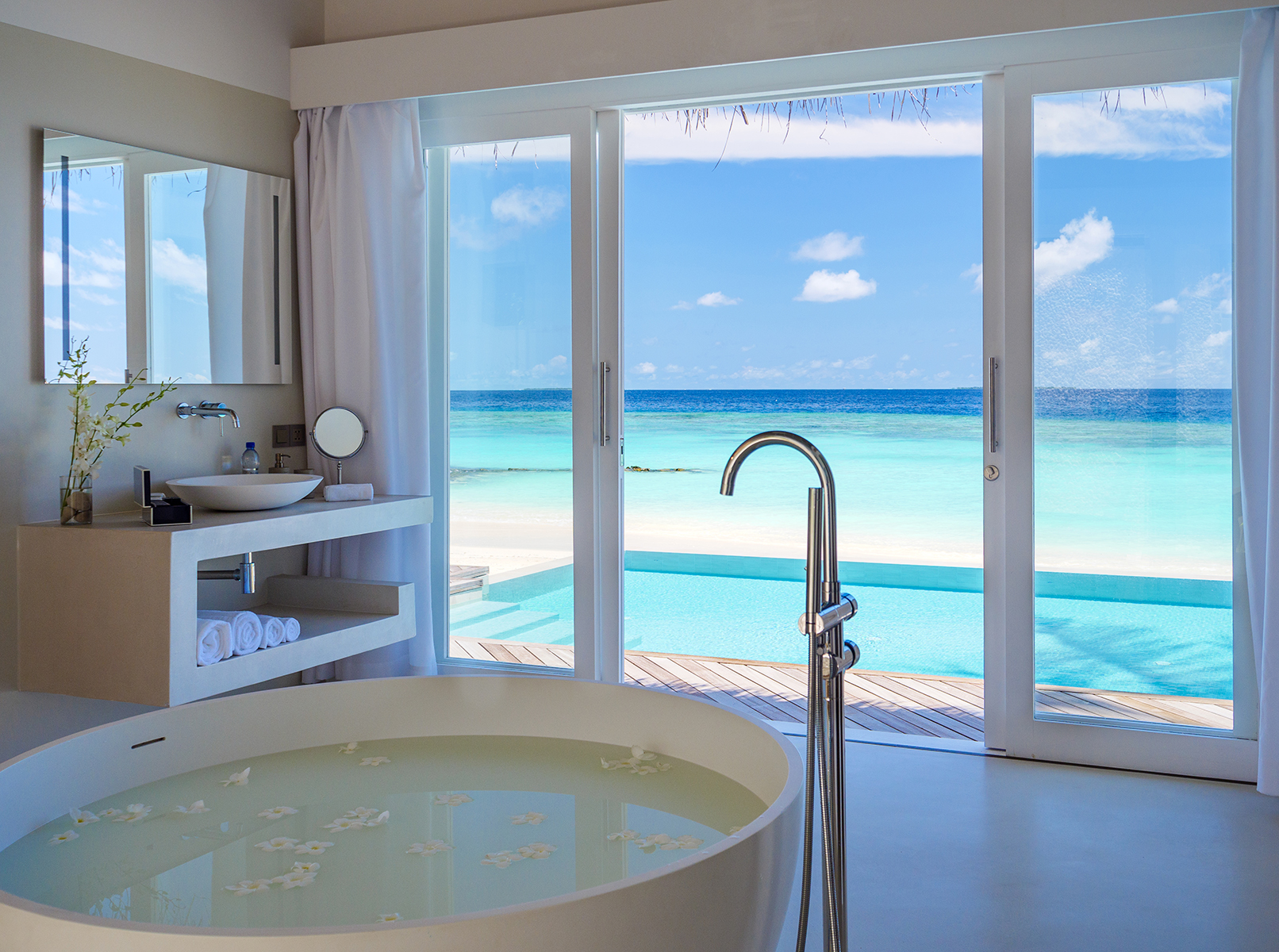 День Святого Валентина в Baglioni Resort Maldives