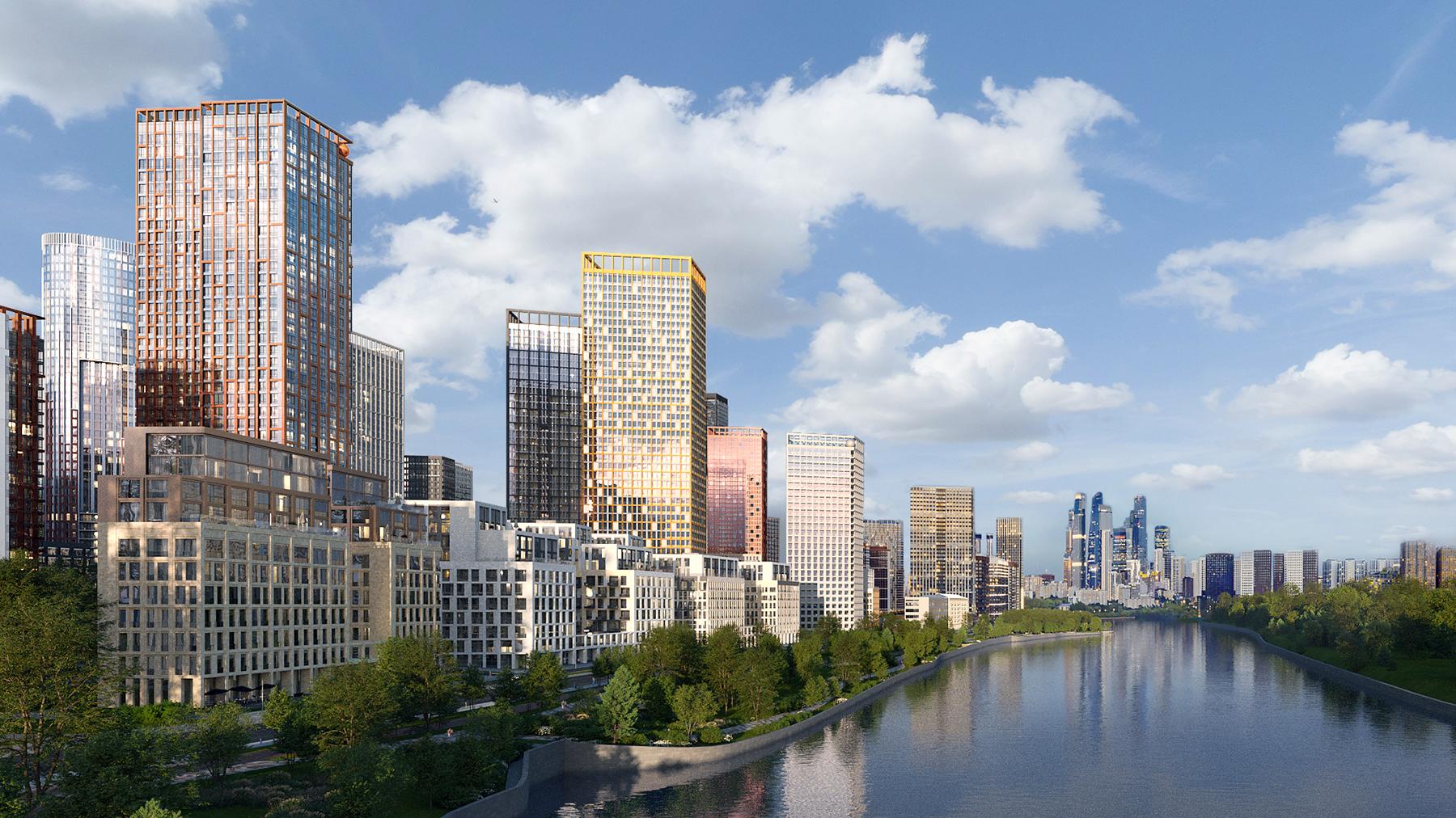 Презентация жилого комплекса Sydney City.