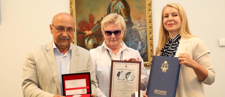 Императорский Монетный Двор поздравил «Центральный военно-морской музей»  с Днем Военно-морского флота