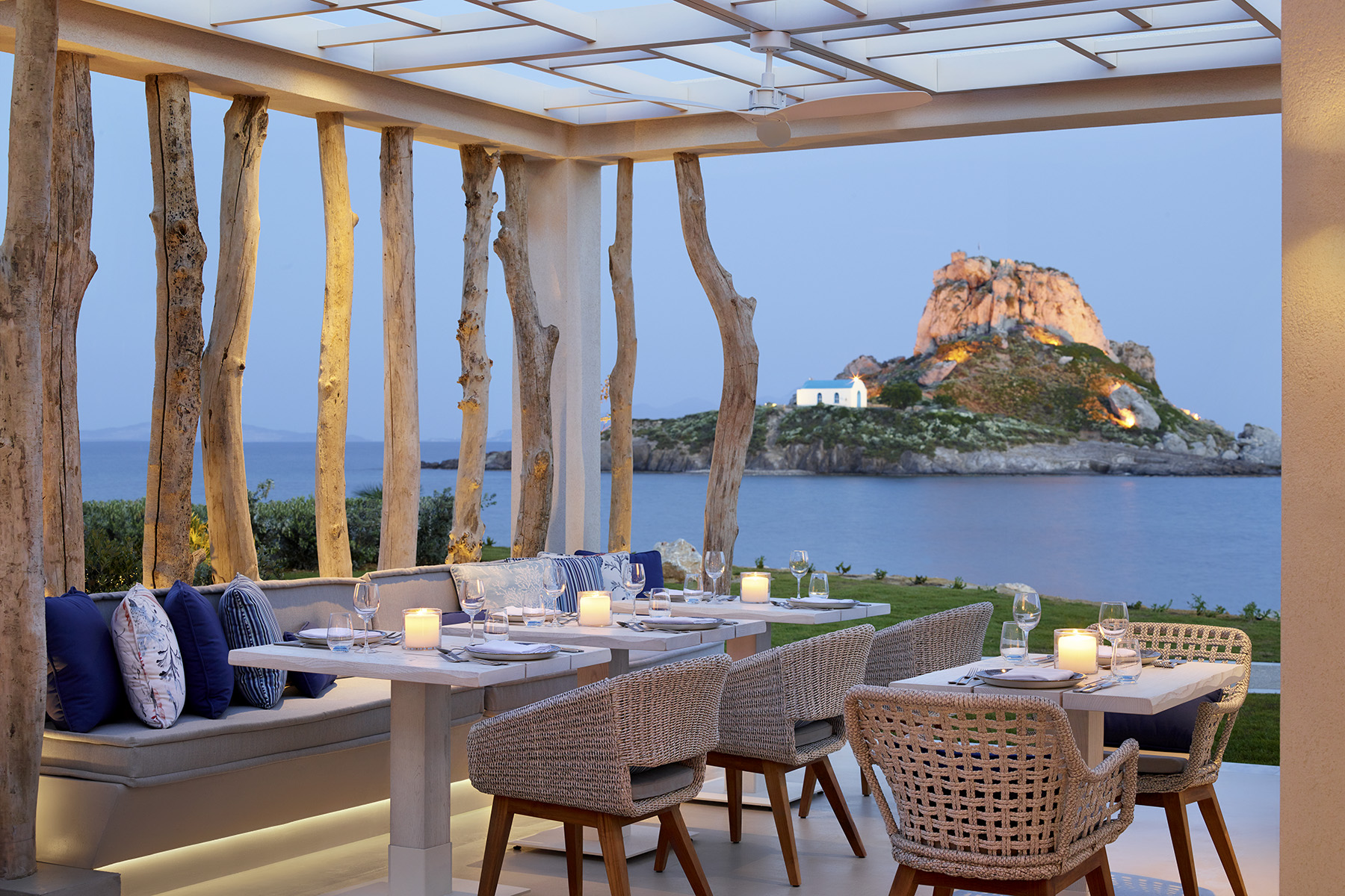 Курорты Ikos: Средиземноморская рапсодия